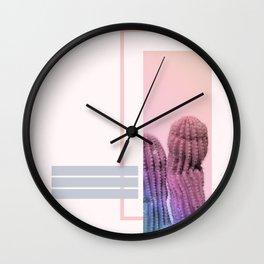 Pastel Cactus #society6 #spring Wall Clock