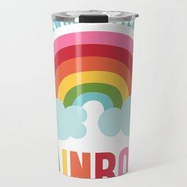 Somewhere Over the Rainbow Travel Mug