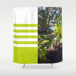 Wattle I do in Vincentia Shower Curtain