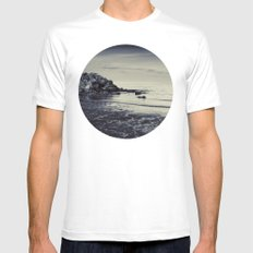 Let us forget MEDIUM White Mens Fitted Tee