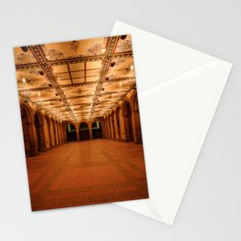 Bethesda Terrace in Central Park Stationery Cards