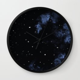 Starry Night (Cloud series #9) Wall Clock