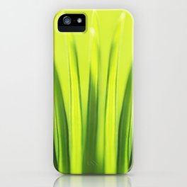 Palm Tree Sunlight Leaf Tropical Summer Green Yellow Hawaii Pattern iPhone Case