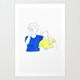 SHINee I Art Print