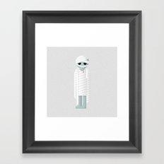 Vampire / Mummy Framed Art Print