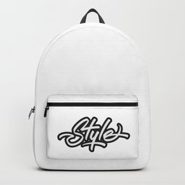 Style Lettering Backpack