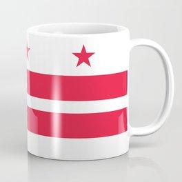 Flag of the District of Columbia - Washington D.C authentic version Coffee Mug