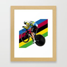 World champ itt Framed Art Print