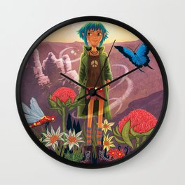 The Adventures of Lola Wall Clock