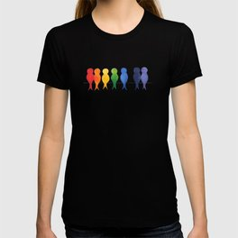 Catch A Rainbow - Birds on a Wire T-shirt