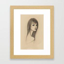 """""""PORTRAIT"""" Framed Art Print"""