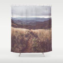Bieszczady Mountains - Landscape and Nature Photography Shower Curtain