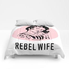 Rebel Wife Comforters