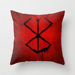 The Berserk Addiction Throw Pillow