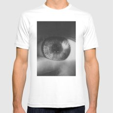 Cosmovision MEDIUM White Mens Fitted Tee