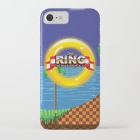 video game iPhone & iPod Cases featuring Retro Platform Video game poster  by Nick's Emporium Gallery