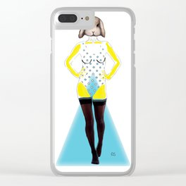 Baby K Clear iPhone Case