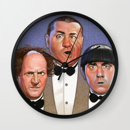 The Three Stooges Wall Clock