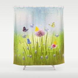 Fruehling - Spring Shower Curtain