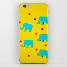 Playful Elephants iPhone & iPod Skin
