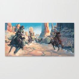 Bushwacked Canvas Print