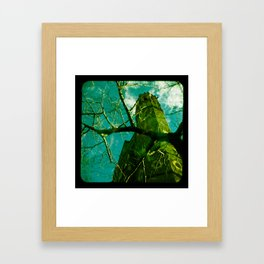 Cathedral Tower Framed Art Print
