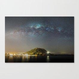 Mauao Milky Way Canvas Print