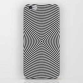 Concentric Circles iPhone Skin