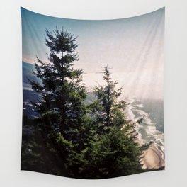 Neahkahnie Mountain Beach Oregon Coast Photo Forest Wall Tapestry