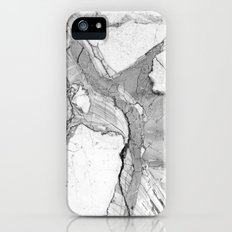 Grey marble iPhone (5, 5s) Slim Case