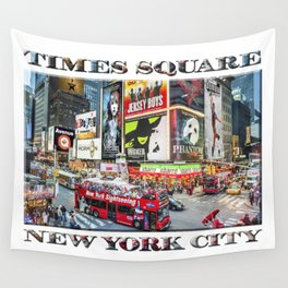 Times Square NYC (poster edition) Wall Tapestry