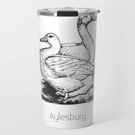 Aylesbury Duck | Animal Art Design Travel Mug