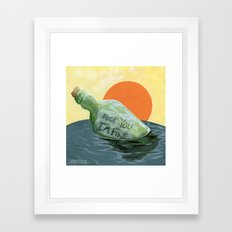 Finding Yourself Framed Art Print