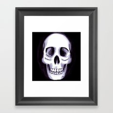 Bones V Framed Art Print
