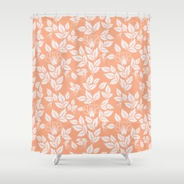 Leaves Pattern 8 Shower Curtain