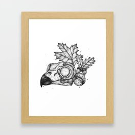 Owl Anatomy Framed Art Print