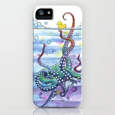 Bath Time Octopus iPhone SE Slim Case