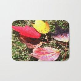 Fall colors Bath Mat