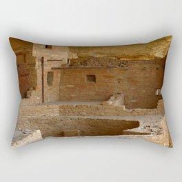 Balcony House View - Mesa Verde Rectangular Pillow