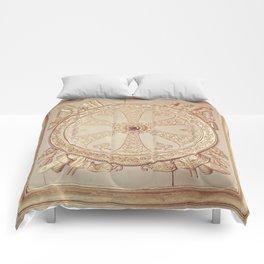 Gold Circle Comforters