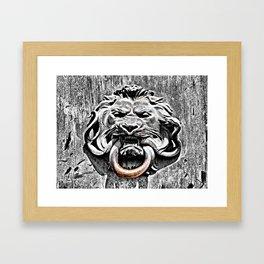 Epic Struggle Framed Art Print