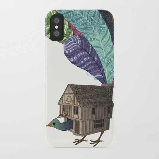 birdhouse revisited iPhone Case