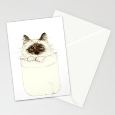 Puss in Pocket (B) Stationery Cards