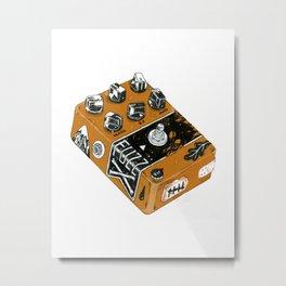 That FUZZ Metal Print