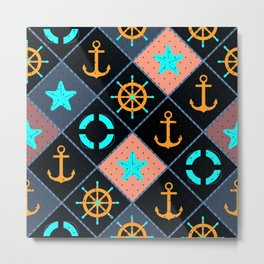 For those who are at sea. Metal Print
