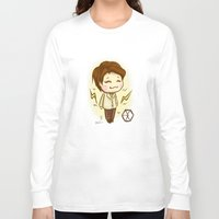 exo Long Sleeve T-shirts featuring Pathcode EXO - Chen by Minnie Dreamer