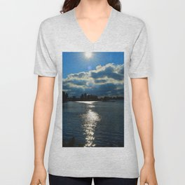 Sunkissed Waters Unisex V-Neck