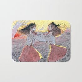 Only the Strong Survive Bath Mat