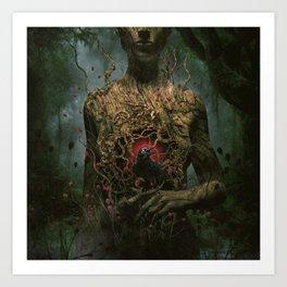 Dark Messenger Art Print