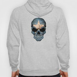 Dark Skull with Flag of Somalia Hoody